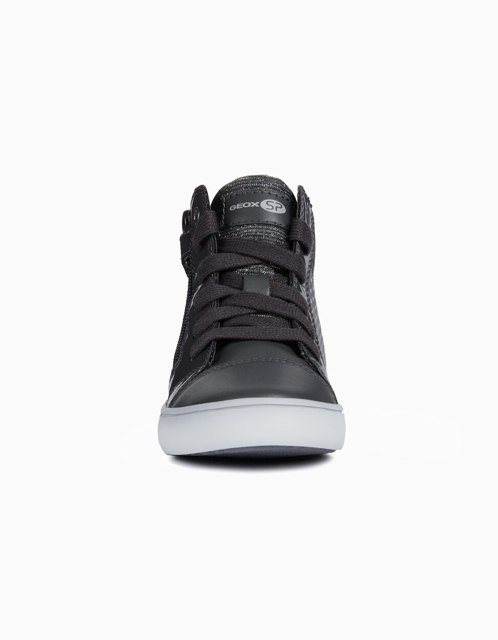 Sapatilha High-top com fecho lateral da Geox