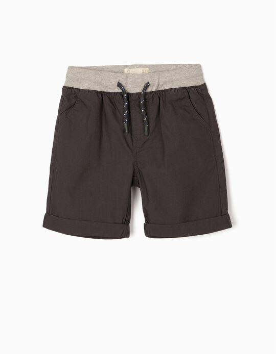 Shorts for Baby Boys, Dark Grey