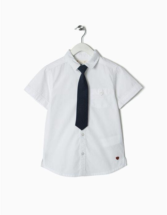 Camisa com gravata