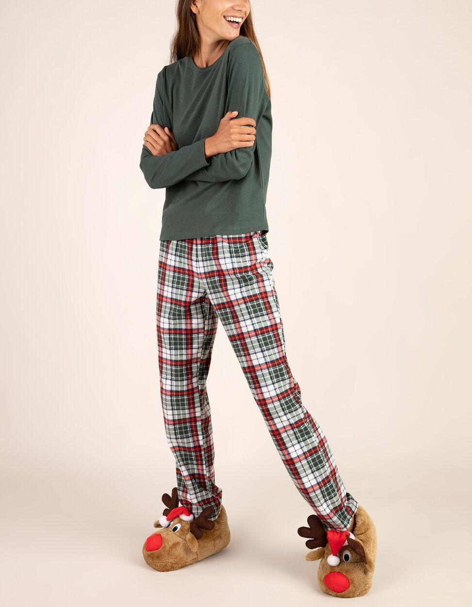 Conjunto de pijama polar de Natal