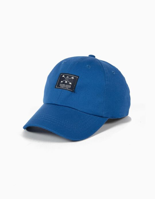 Boné Basebol Azul Claro