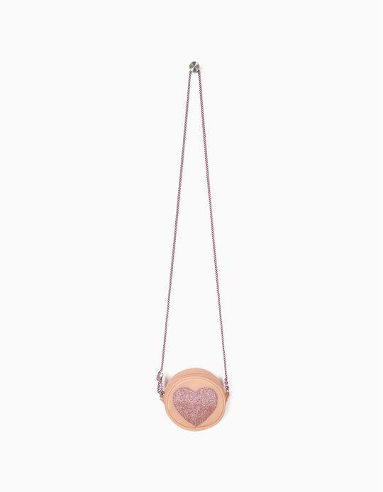 Bolsa a Tiracolo para Menina 'Heart', Rosa