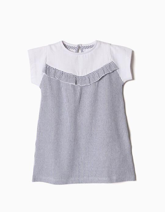 T-shirt Combinada Riscas