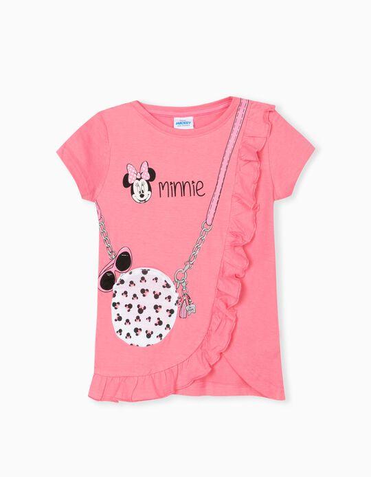 Minnie' T-shirt for Girls, Pink