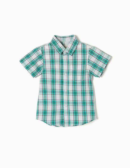 Camisa Xadrez Verde