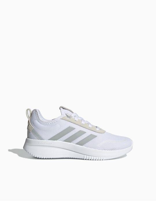 Adidas Lite Racer Trainers, Women, White
