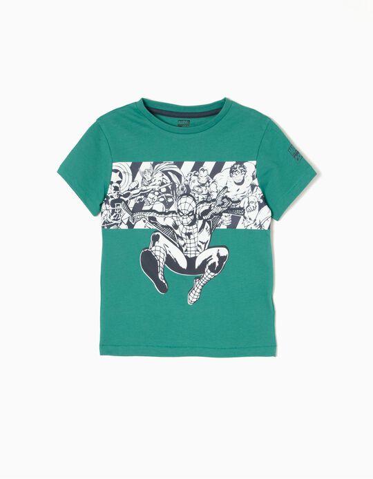 T-shirt Avengers Verde