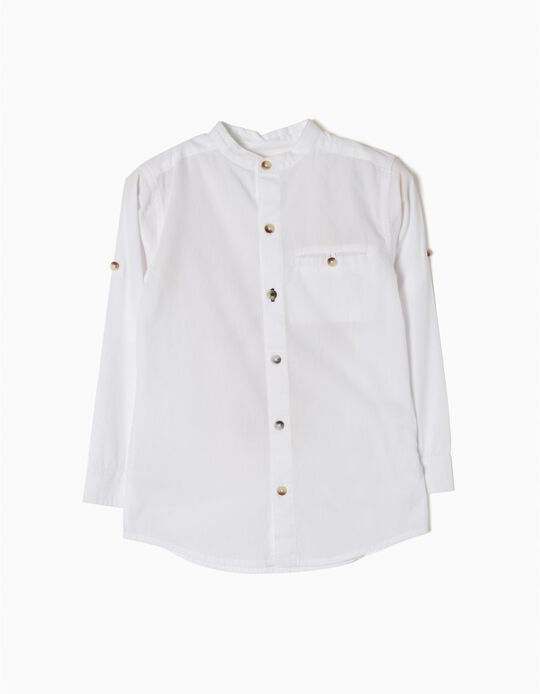 Camisa Colarinho Mao