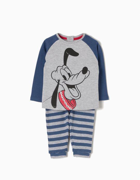 Pijama Manga Comprida Pluto