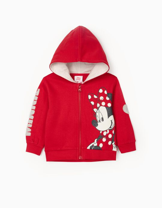Hooded Jacket for Girls 'Minnie', Red