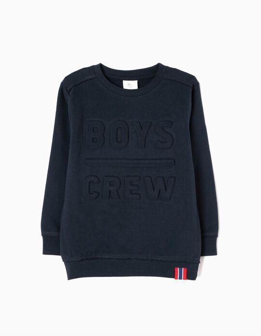 Sweatshirt Boys Crew