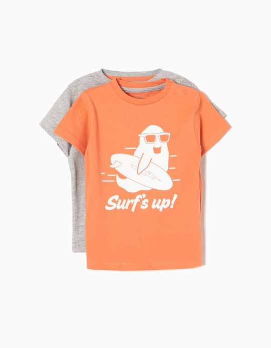 Pack 2 T-shirts Surf's Up