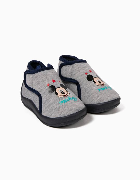 Pantufas Cinzentas Mickey