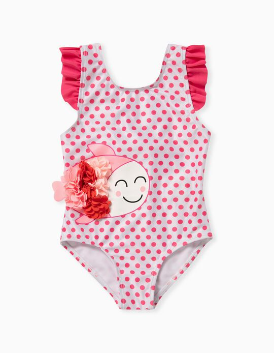 Dotted Swimsuit for Baby Girls