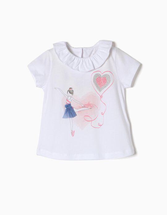 T-shirt Glitter Bailarina