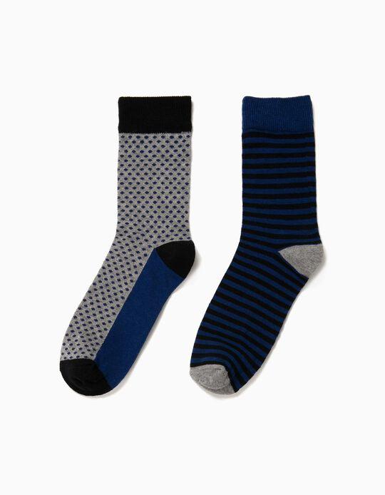 Pack sortido de 2 pares de meias