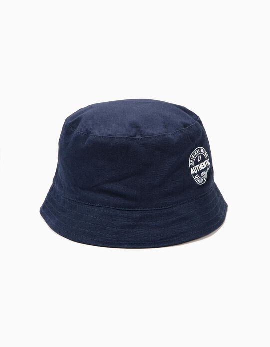 Chapéu para Menino 'ZY 1996', Azul Escuro