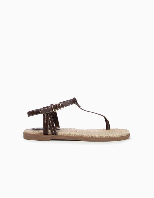 Sandálias de tiras