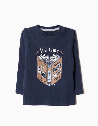 T-shirt Manga Comprida Read