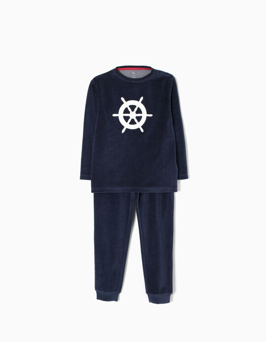 Pijama Veludo Remo