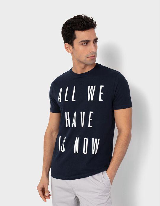 T-shirt para Homem, 'Now'