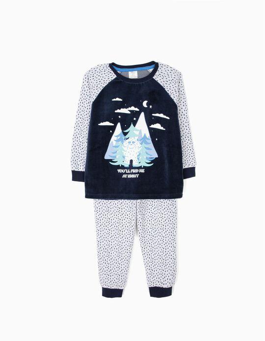 Pijama Veludo Yeti