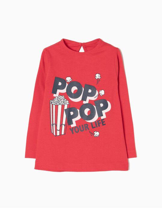 T-shirt Manga Comprida Pop Pop
