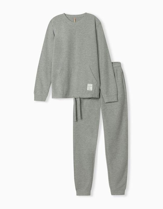 Nomadic Traveller' Pyjamas, Men, Grey
