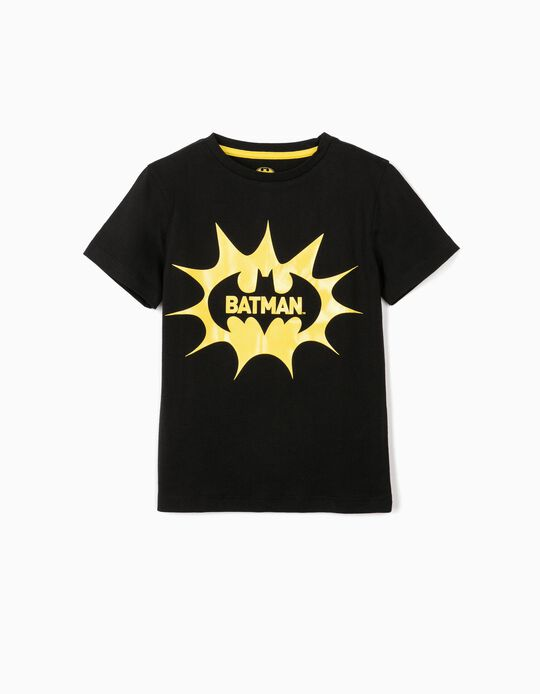 T-Shirt for Boys 'Batman', Black
