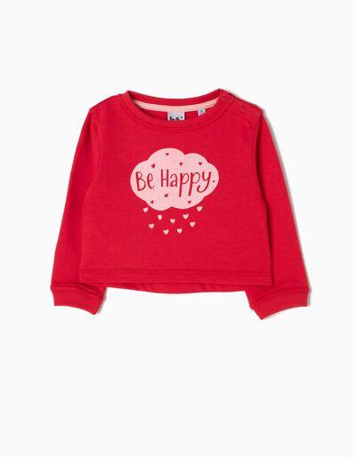 Sweatshirt Happy