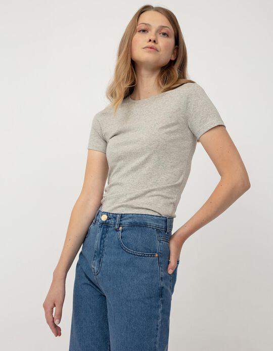 Basic T-shirt for Women, Grey