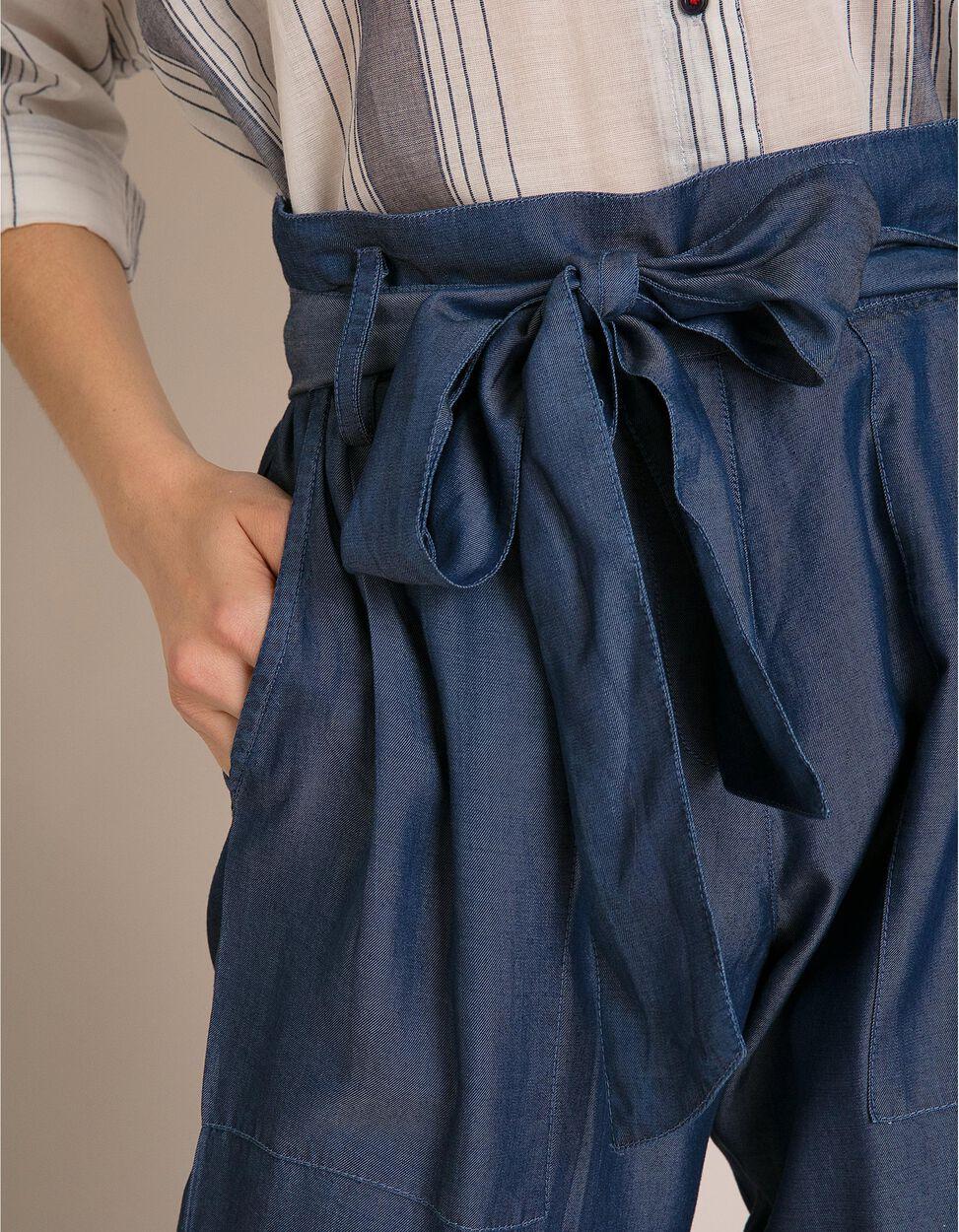 Calças Paper Bag Liocel