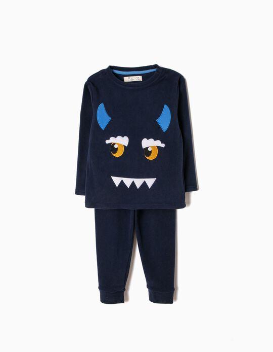Pijama Polar Little Monster Eye