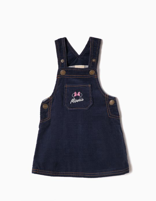 Corduroy Pinafore Dress, Minnie
