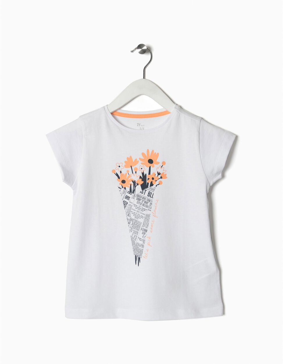 T-shirt pick some flowers
