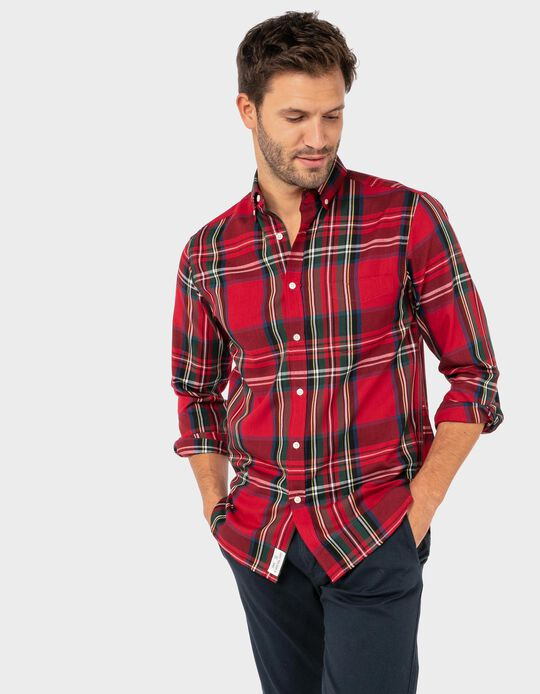 Regular Fit Tartan Shirt