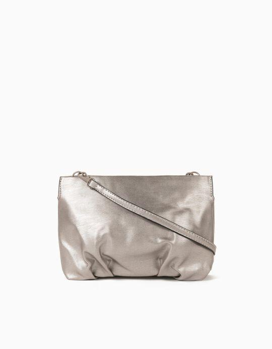 Crossbody Bag for Women, Silver