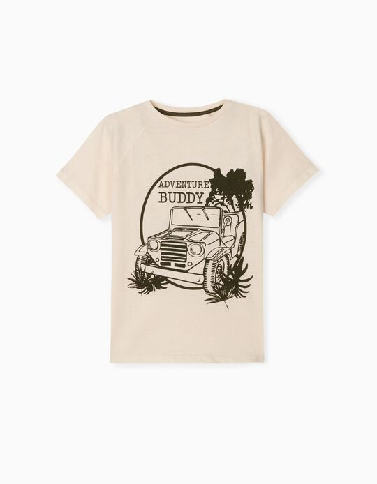 T-shirt with Print, 'Adventure'