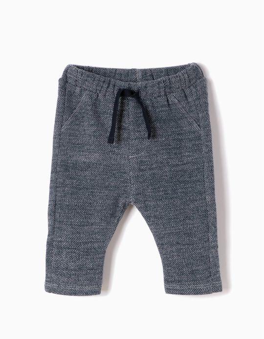 Blue Fleece Trousers