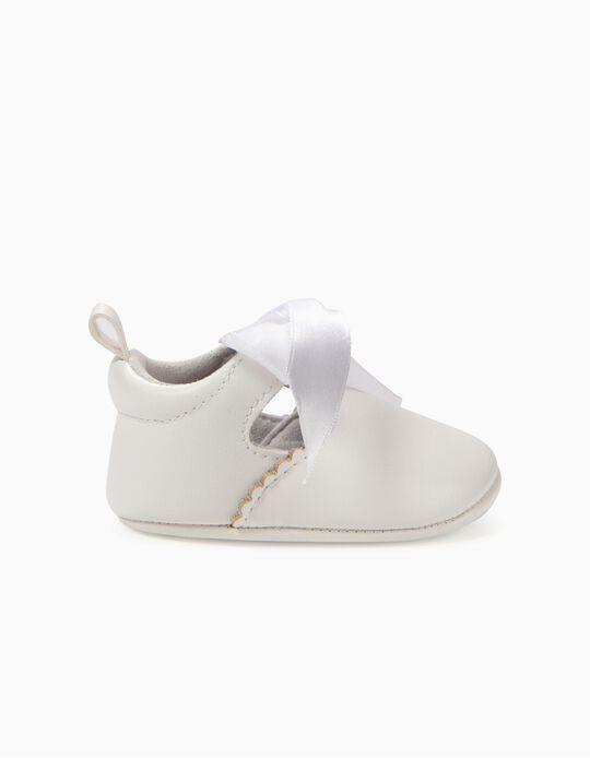 Sapatos para Recém-Nascido, Branco