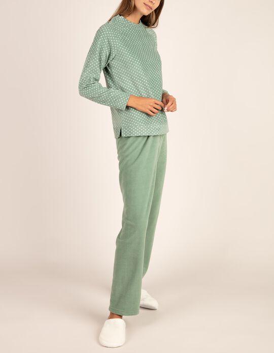 Conjunto pijama malha polar
