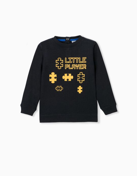 Gamer' Sweatshirt, Babies, Dark Blue