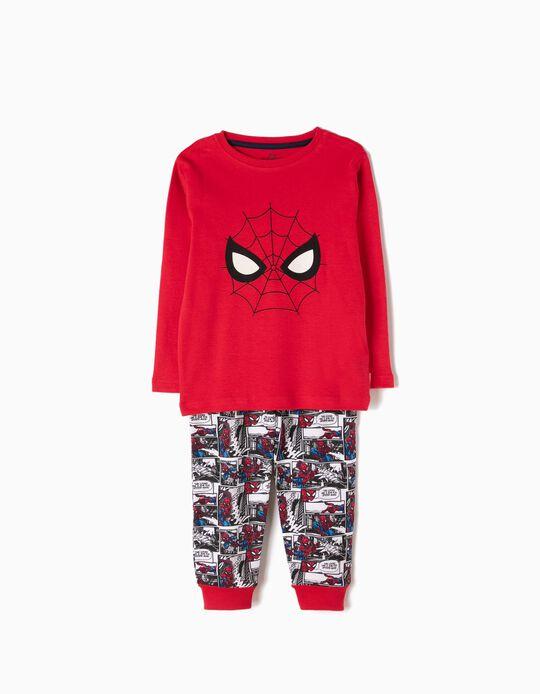 Pijama Manga Comprida e Calças Spider-Man