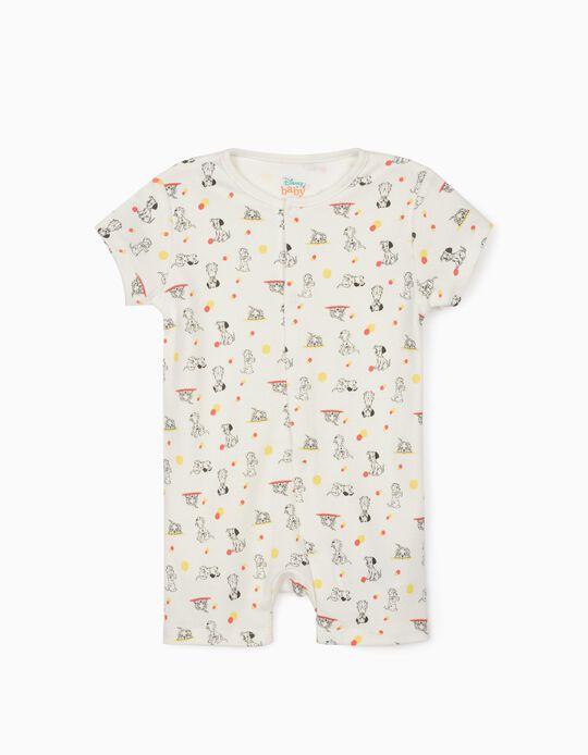 Sleepsuit for Baby Boys, '101 Dalmatians', White