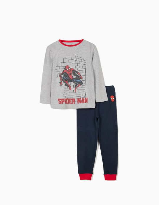 Pijama para Menino 'Spider-Man', Cinza/Azul