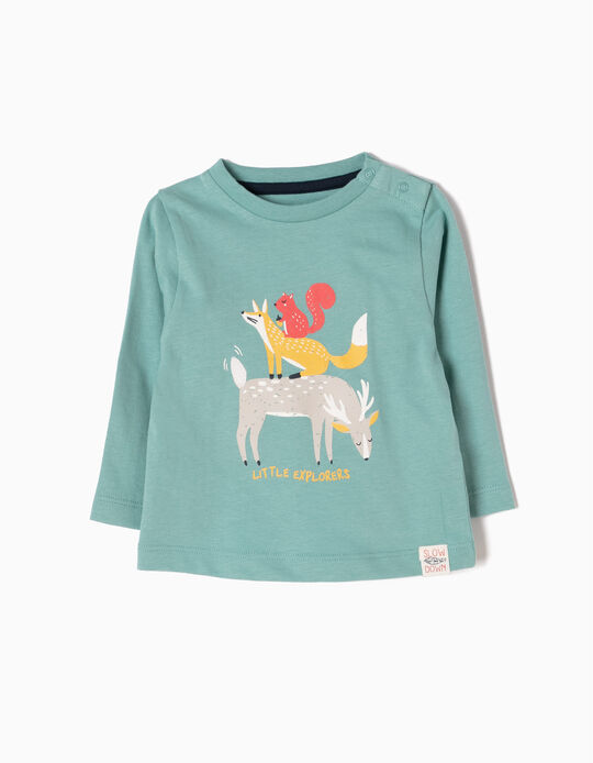 Long-Sleeved Top, Little Explorers