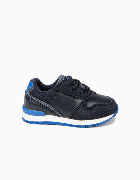 Combined Sneakers for Baby Boys 'ZY Easy', Blue