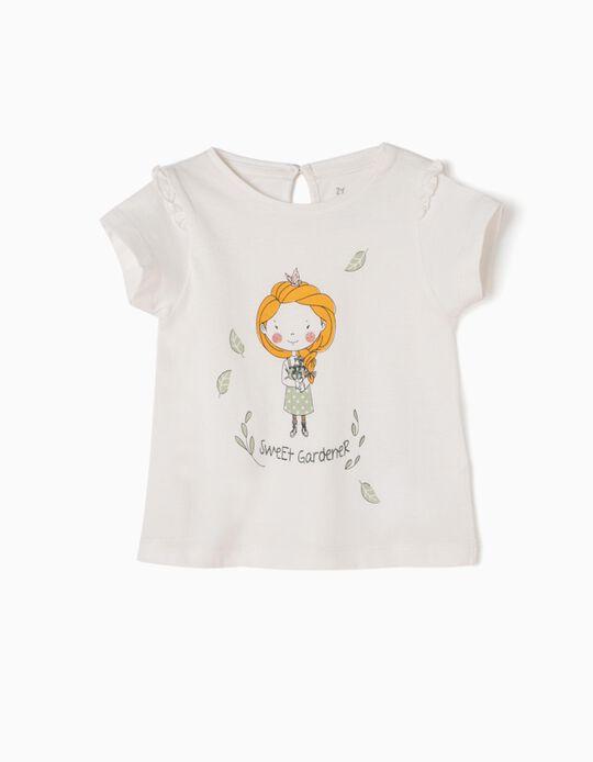 White T-Shirt, Sweet Gardener