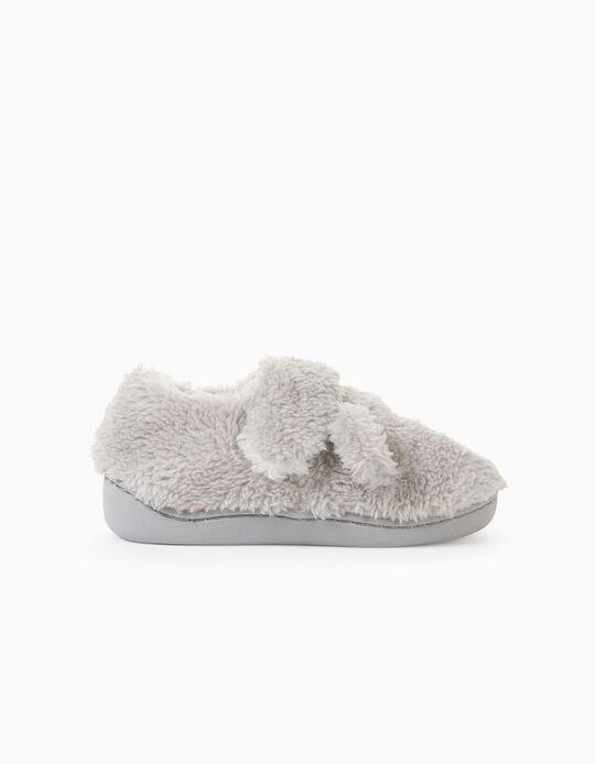 Slippers for Boys 'Sharp Teeth', Grey