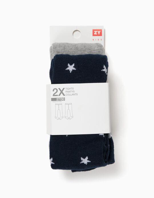 Pack 2 Collants Estrelas